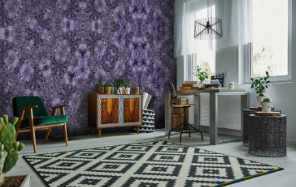 Purple Wallpaper Wallpaper Murals