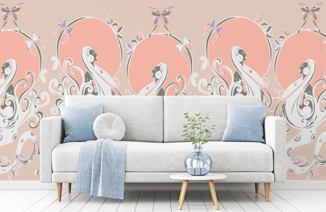 Rebecca Johnstone Wallpaper Murals