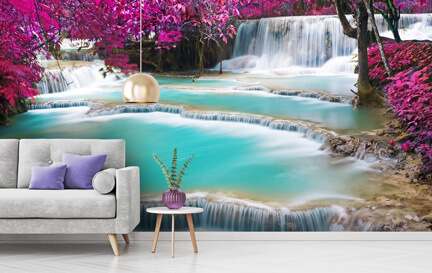 Waterfall Wallpaper Wallpaper Murals