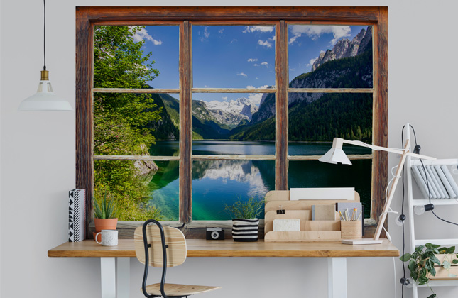 Window Wallpaper Wallpaper Murals