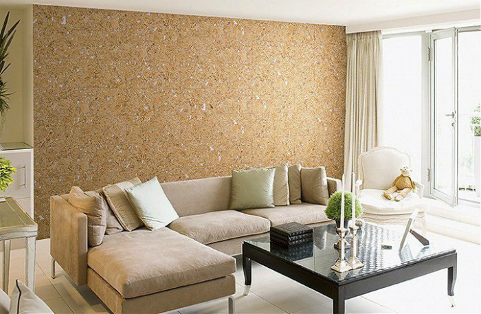 Cork and faux materials industrial trend 2017