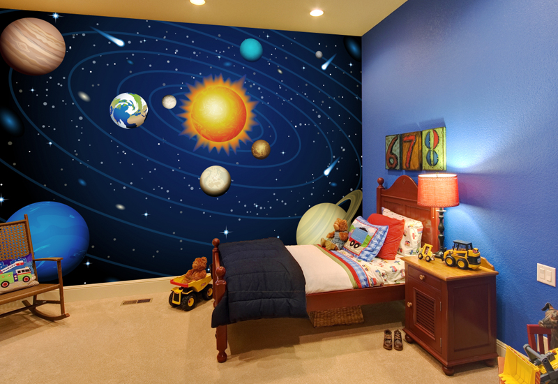 Solar System Wallpaper Wall Mural