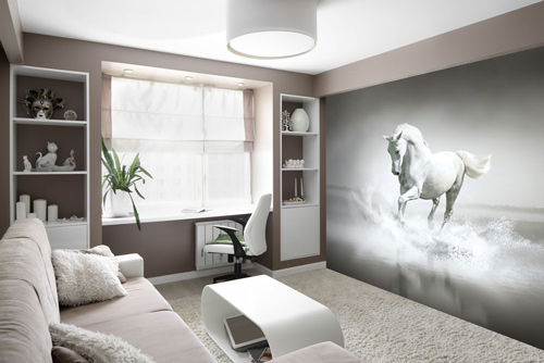 For Junior Riders Why Not Have The Perfect Bedroom Wallpaper Adorn Your Room View Our Horse Wall Murals Great Equestrian Home Ideas