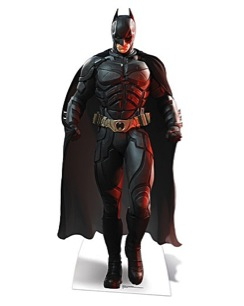 Batman cardboard cutout