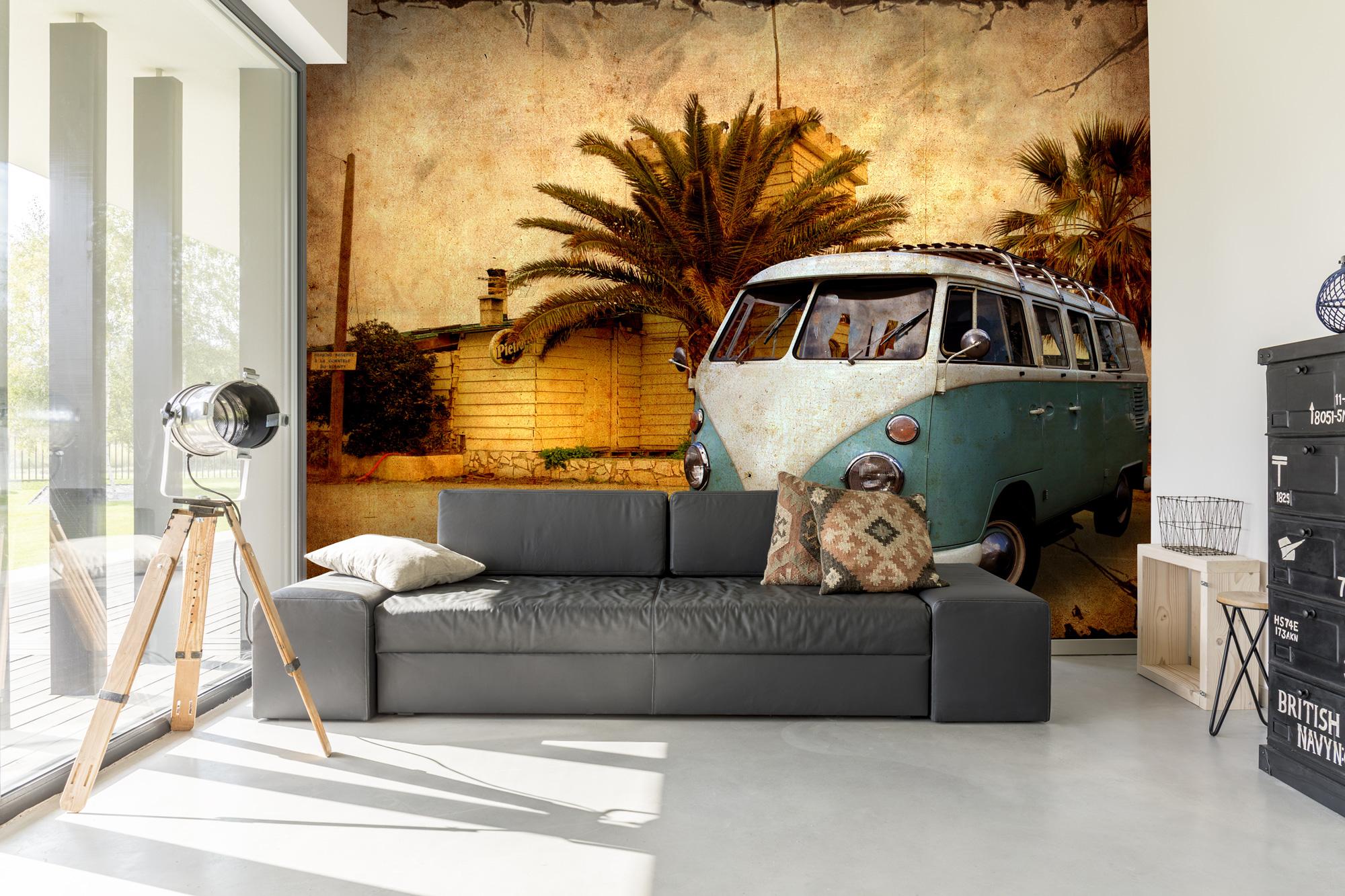 Retro Wallpaper For 60s And 70s Home Decor