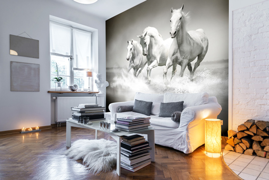 gallery for horse wallpaper for bedroom