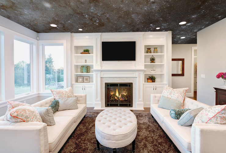 Ceiling Wallpaper Ideas And Designs For Any Room