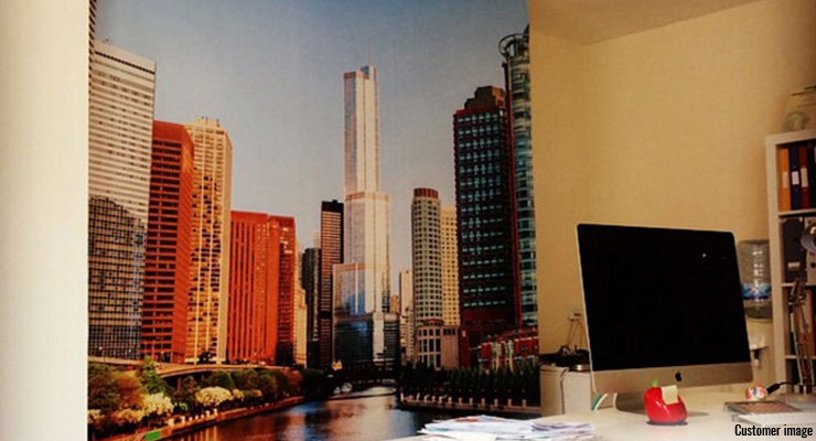 city-wallpaper-in-home-office