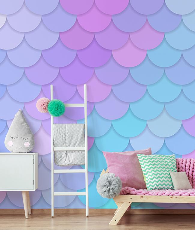 Mermaid Bedroom Ideas for All Ages (Volwassenen Inc)!  Wallsauce NL