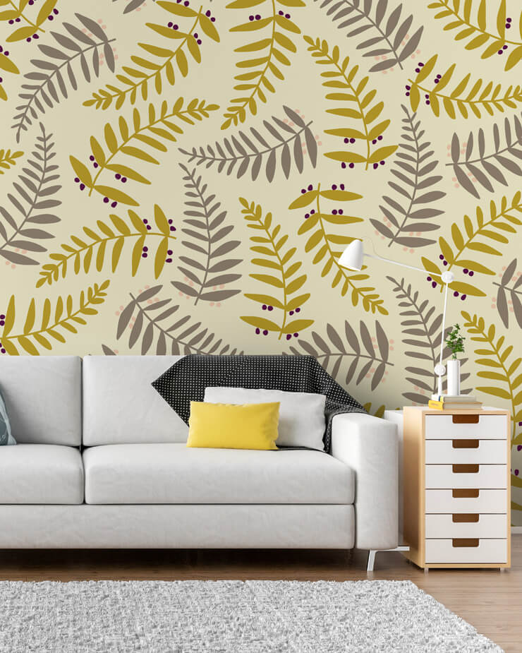 yellow-pattern-wallpaper