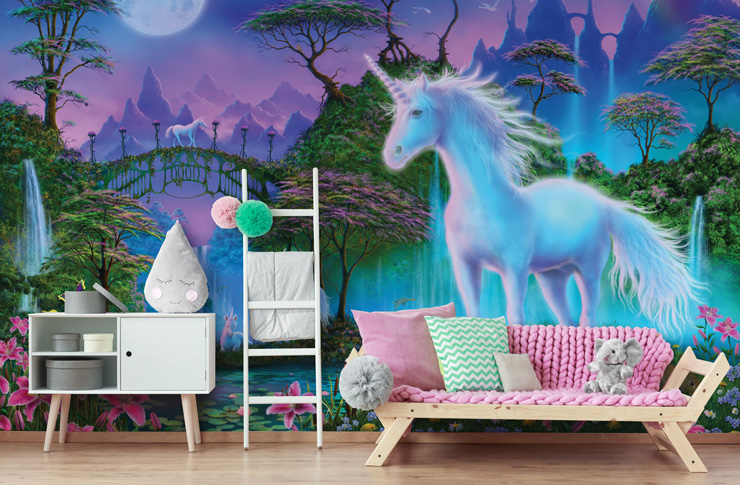 9 Unicorn Bedroom Ideas That Are Completely Magical And Mystical Wallsauce Uk