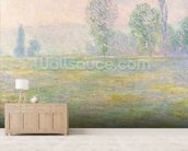 Meadows in Giverny, 1888 wallpaper mural living room preview