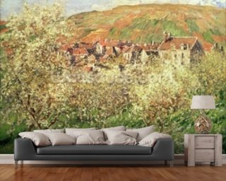 Apple Trees in Blossom, 1879 wall mural