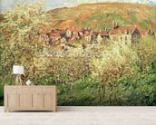 Apple Trees in Blossom, 1879 wall mural living room preview
