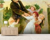 Going to the Fair wall mural living room preview