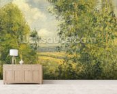 A Rest in the Meadow, 1878 (oil on canvas) wall mural living room preview