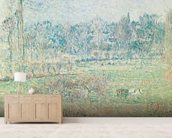Autumn Morning, 1892 (oil on canvas) wallpaper mural living room preview