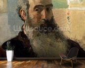 Self Portrait, 1873 (oil on canvas) wall mural kitchen preview
