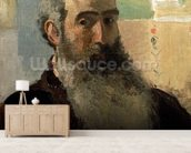 Self Portrait, 1873 (oil on canvas) wall mural living room preview