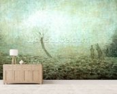 Landscape, 1874 (oil on canvas) wall mural living room preview