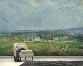 Landscape in Pontoise Wallpaper Wall Murals