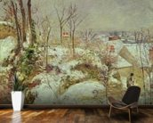 Snow Scene wallpaper mural kitchen preview