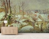 Snow Scene wallpaper mural living room preview