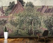 Landscape with Cottage Roofs, 1899 mural wallpaper kitchen preview