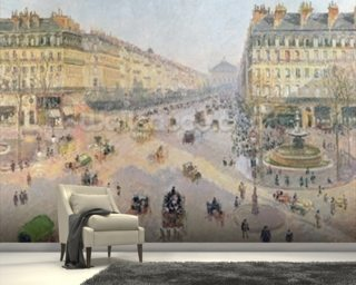 The Avenue de LOpera Wallpaper Wall Murals