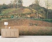 Ploughland, 1874 wallpaper mural living room preview