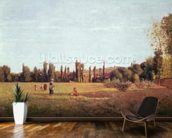 La Varenne de St. Hilaire, 1863 mural wallpaper kitchen preview