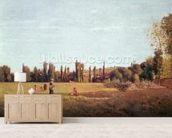 La Varenne de St. Hilaire, 1863 mural wallpaper living room preview
