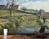 The Farm at Osny, 1883 wall mural kitchen preview
