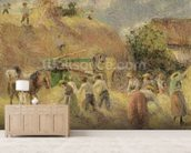 The Harvest, 1883 wallpaper mural living room preview