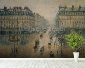 Avenue de LOpera, Paris, 1898 mural wallpaper in-room view