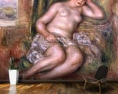 Sleeping Odalisque, or Odalisque in Turkish Slippers, c.1915-17 (oil on canvas) mural wallpaper kitchen preview