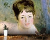 Womans Head, c.1876 (oil on canvas) wall mural kitchen preview