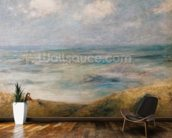 View of the Sea, Guernsey (oil on canvas) wall mural kitchen preview