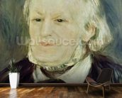 Portrait of Richard Wagner (1813-83), 1893 (oil on canvas) (see also 27900) mural wallpaper kitchen preview