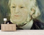 Portrait of Richard Wagner (1813-83), 1893 (oil on canvas) (see also 27900) mural wallpaper living room preview