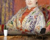 Madame Heriot, 1882 (oil on canvas) mural wallpaper kitchen preview