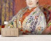 Madame Heriot, 1882 (oil on canvas) mural wallpaper living room preview