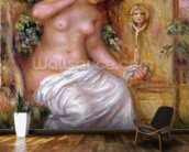The Bather at the Fountain, 1914 wall mural kitchen preview