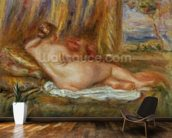 Reclining nude, 1914 mural wallpaper kitchen preview