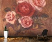 Roses in a pot mural wallpaper kitchen preview