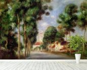 The Road to Essoyes, 1901 (oil on canvas) wall mural in-room view