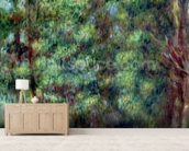 Path in a Wood, 1910 (oil on canvas) wall mural living room preview