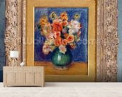 Bouquet, c.1900 (oil on canvas) wallpaper mural living room preview