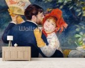 A Dance in the Country, 1883 (oil on canvas) (detail of 37338) wallpaper mural living room preview