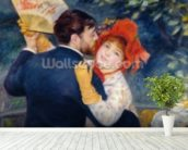 A Dance in the Country, 1883 (oil on canvas) (detail of 37338) wallpaper mural in-room view